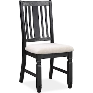 Glendale Dining Chair - Black