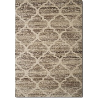 Granada 8' x 11' Area Rug - Tan and Brown