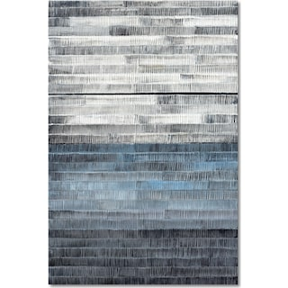 Gray to Blue Wall Art