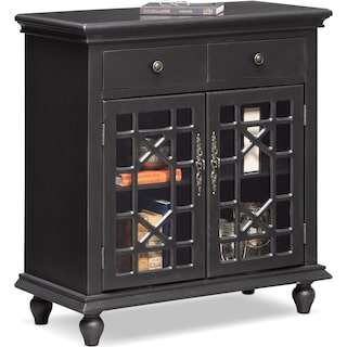 Grenoble Cabinet - Black