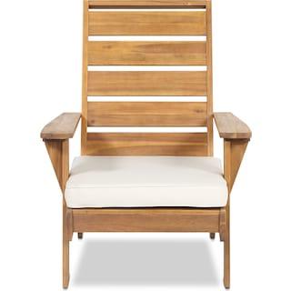 Hampton Beach Outdoor Chair - Brown