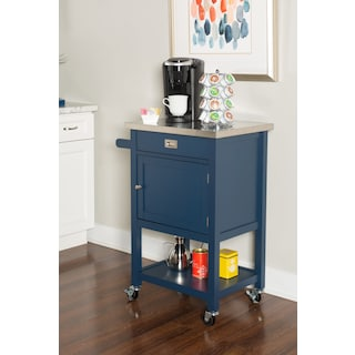 Highland Apartment Cart - Navy