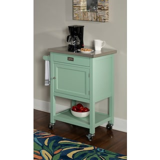 Highland Apartment Cart - Green