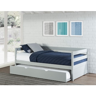 Hudson Twin Trundle Daybed - Gray
