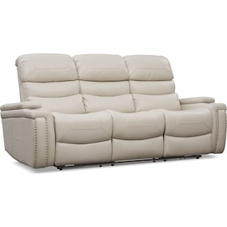 Jackson Triple-Power Reclining Sofa - Ivory
