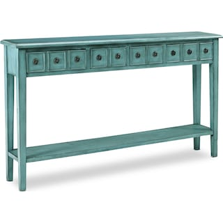 Josie Console Table - Teal