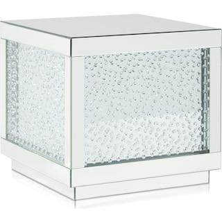 Krystal End Table