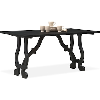 Layne Fold-Out Table - Black