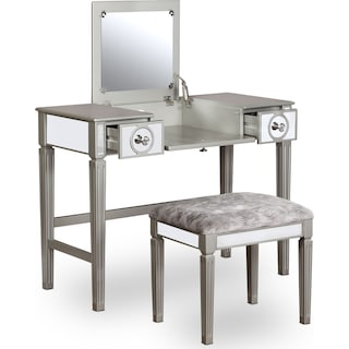Lexi Vanity Desk and Stool