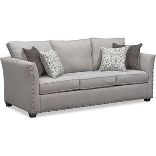 Mckenna Queen Foam Sleeper Sofa - Pewter