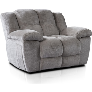 Mellow Manual Recliner - Stone