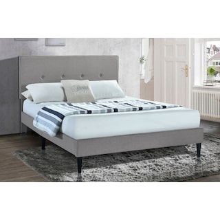Mikah King Upholstered Platform Bed