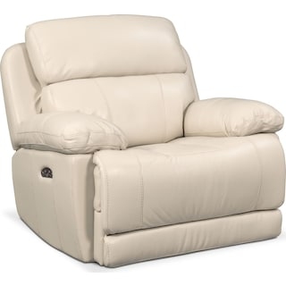 Monte Carlo Dual-Power Recliner - Cream