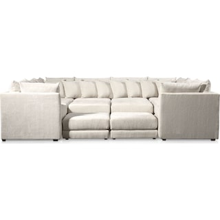 Nest 9-Piece Sectional - Ivory
