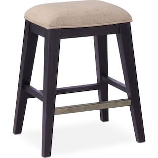 New Haven Counter-Height Stool - Black