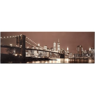 Survivor NYC Skyline Canvas Print