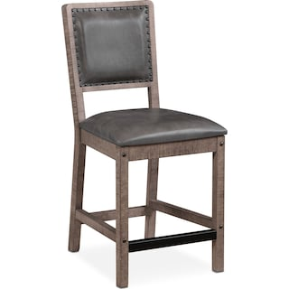 Newcastle Counter-Height Dining Chair - Gray