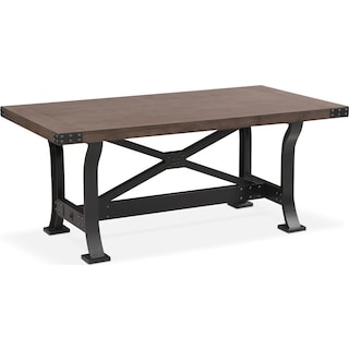 Newcastle Dining Table - Gray