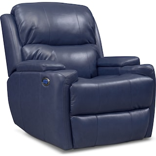 Omega Triple-Power Recliner - Blue