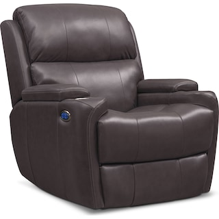 Omega Triple-Power Recliner - Gray