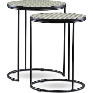 Optic Nesting End Tables