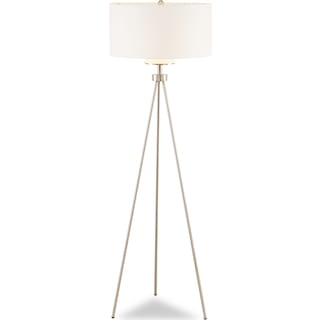 Pacific Tripod Floor Lamp - Silver