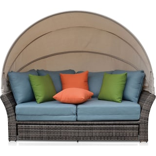 Palmetto Outdoor Daybed - Blue