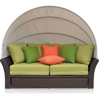 Palmetto Outdoor Daybed - Green