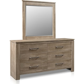 Perry Dresser and Mirror
