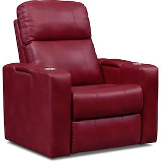Pilot Dual-Power Recliner - Red