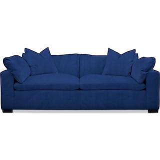 Plush Sofa - Abington TW Indigo