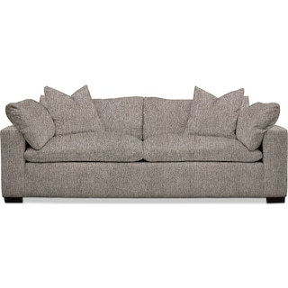 Plush Performance Sofa - Halifax Dove