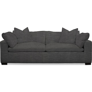 Plush Sofa - Curious Charcoal