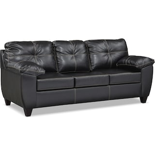 Ricardo Queen Memory Foam Sleeper Sofa - Onyx