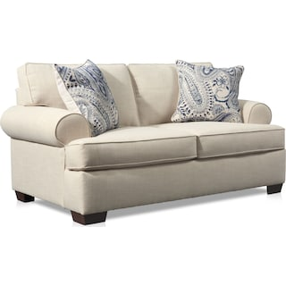 Riley Loveseat - Linen