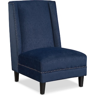 Roberto Accent Chair - Blue