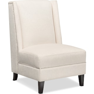 Roberto Accent Chair - White