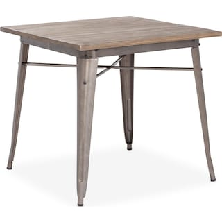 Rustica Dining Table - Steel