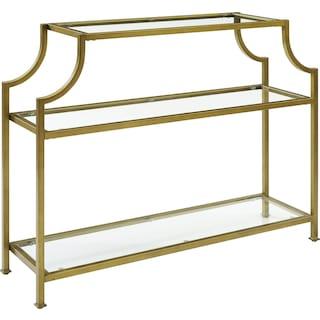 Shea Console Table - Gold