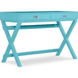 Shelby Desk - Turquoise