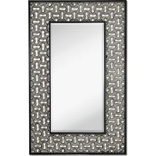 Silver Leaf Wall Mirror