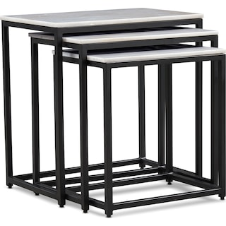 Simplicity Marble Nesting Tables