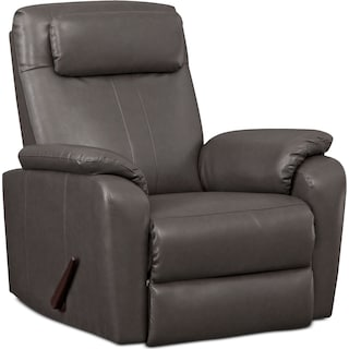 Sparta Manual Rocker Recliner - Gray