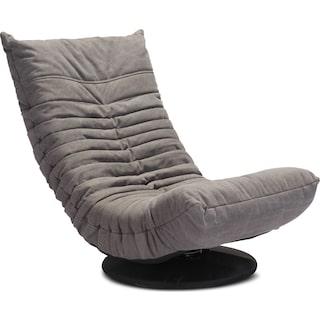Swivel Gaming Chair - Gray