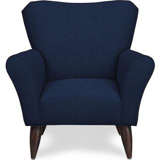 Kady Accent Chair - Oakley III Ink