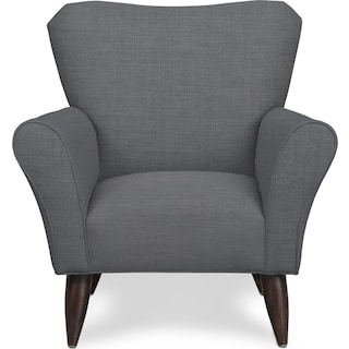 Kady Accent Chair - Milford II Charcoal