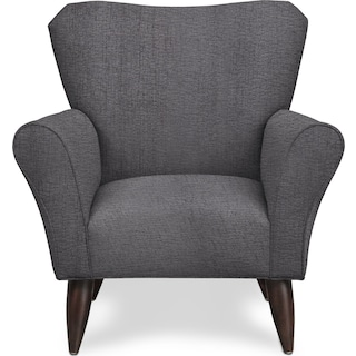 Kady Accent Chair - Living Large Charcoal