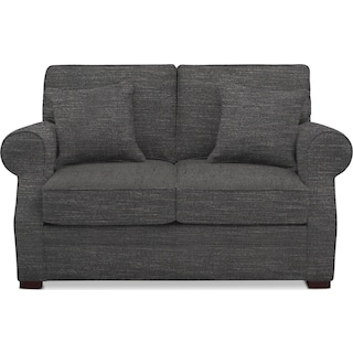 Tallulah Loveseat - Curious Charcoal