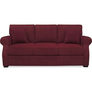 Tallulah Sofa - Modern Velvet Wine
