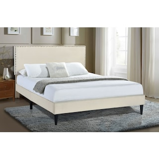 Teagan King Upholstered Platform Bed